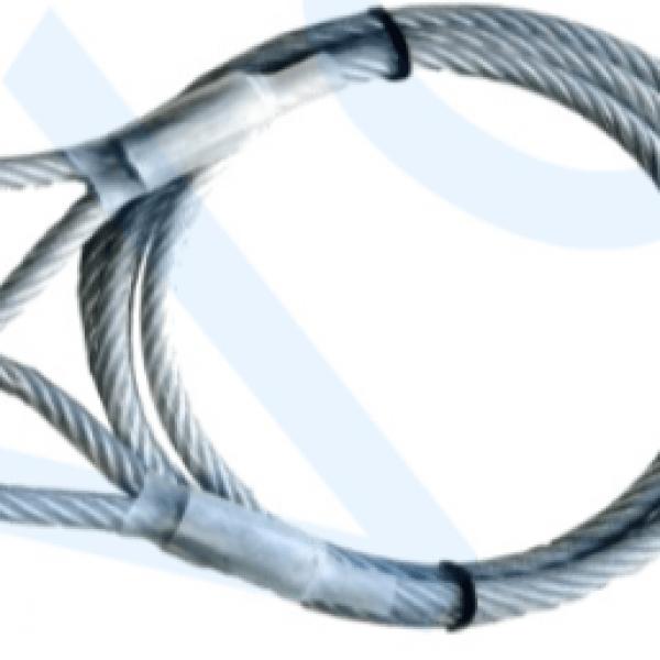 Geplastificeerde kabel